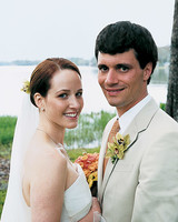 A Modern Orange Wedding in Florida