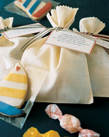 Sailboat Cookie and Saltwater Taffy Favors
