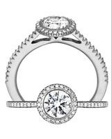 Ritani White Gold Engagement Ring