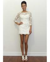 Short Wedding Dresses from Spring 2012 Bridal Fashion Week