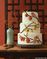 Asian Fruit Wedding Cake