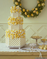 Chocolate-Lemon Wedding Cake