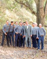 Stylish Groomsmen from Real Weddings
