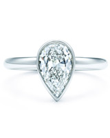 Tiffany & Co. Pear Engagement Ring
