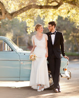 A Vintage and Whimsical Outdoor Destination Wedding in California