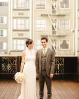 A Crafty Vintage-Inspired Wedding in San Francisco