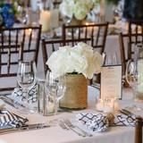 Nautical Wedding Style Table