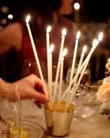 Celebration Candle Centerpiece