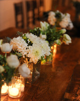 Dahlia Wedding Centerpieces