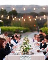 wedding bistro lights