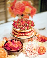 Strawberry Wedding Pound Cake