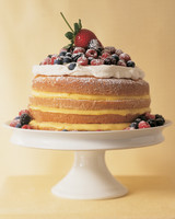 Lemon and Berry Wedding Cake