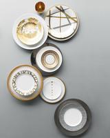 Take a Shine to These Metallic China Patterns