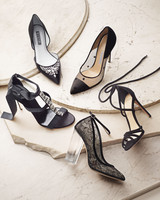 Black Shoes You Can Wear on Your Wedding Day