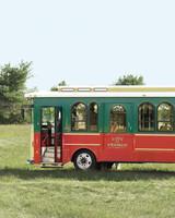 Wedding Transportation Trolley