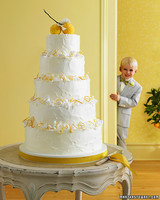 Meyer Lemon Wedding Cake
