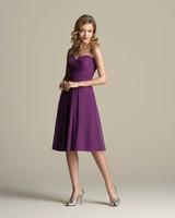 Lavender and Purple Bridesmaid Dresses