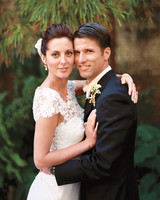 Eva Amurri and Kyle Martino's Modern Slate Gray Destination Wedding in Charleston