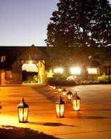 lanterns on ground
