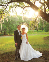 A Formal Pastel-Colored Wedding Outdoors in Charleston, South Carolina