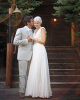 An Elegant, Rustic Wedding Outdoors in Idaho