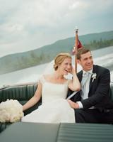 A Lakeside New Hampshire Wedding