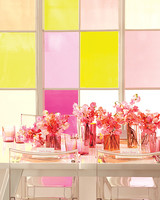 Pair Sheer Citrus and Pink for a Wedding Color Scheme That Makes a Splash