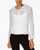 white workout jacket