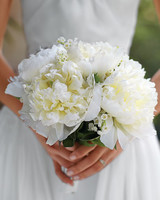 Traditional White Wedding Bouquet