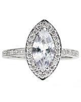 OGI Ltd. White Gold Engagement Ring