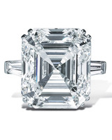 graff asscher-cut white diamond