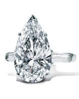 Graff Pear-Cut Diamond Engagement Ring