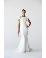 Modern Sheath Wedding Dresses, Fall 2012 Bridal Fashion Week
