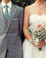 Bride and Groom Clothing Shot