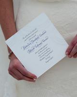 pale gray wedding invitation