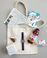 Nautical Compass Rose Welcome Bag
