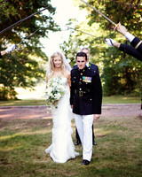 A Navy-Colored Wedding in Maine