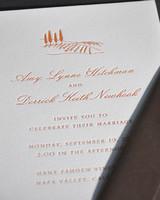 Destination-Inspired Wedding Invitations