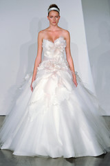 Wedding Dresses With Floral Embellishments, Fall 2013