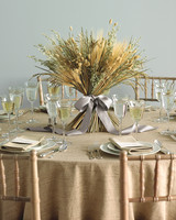 Bow-Tied Grains Centerpiece