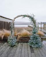 Beachy Branch Wedding Arch