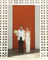 A Bright Modern Destination Wedding in Palm Springs, California