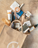 Kate Bosworth and Michael Polish's Wedding Welcome Bags
