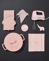 pink registry items