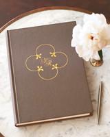 Wedding Motif Guest Book