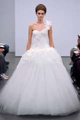 One-Shoulder Wedding Dresses, Fall 2013