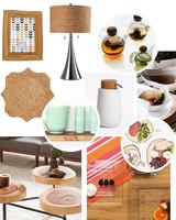 Cork, Glass, Wood Registry Ideas