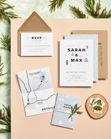 Woods-inspired stationery
