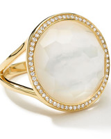 Ippolita Pearl Engagement Ring