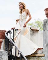 johanna ortiz moda operandi spaghetti strap mermaid bow wedding dress
